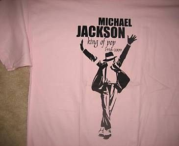 pink XL Delta Pro Weight T Shrit Memorial MJ