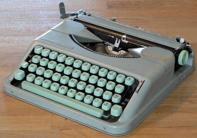 Portable Hermes Baby Typewriter 1960s model