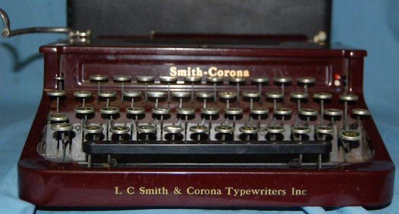 Pre-1950's Smith-Corona Typewriter