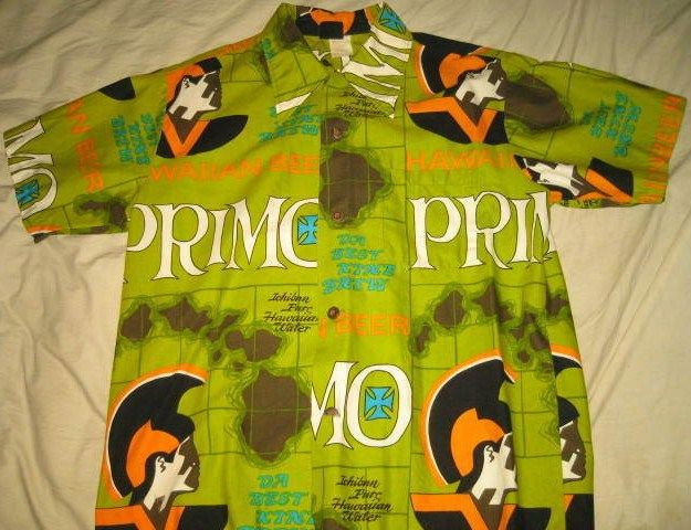 Primo Hawaiian Shirt w/ Hawaiian Holiday Label