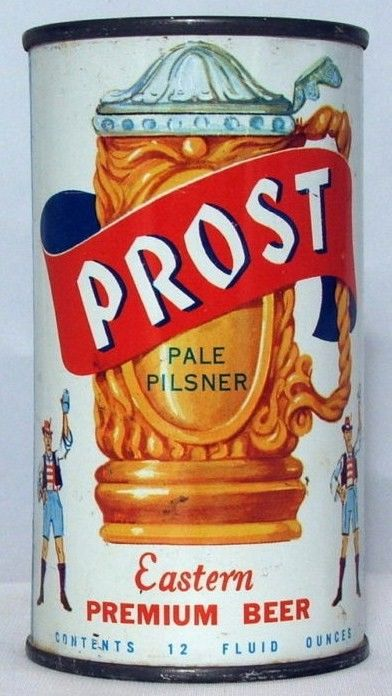Prost Premium Flat Top Beer Can/Chicago, IL