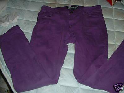 Purple Jeans size 31 x 32