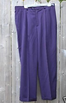 Purple Joker Mens Pants