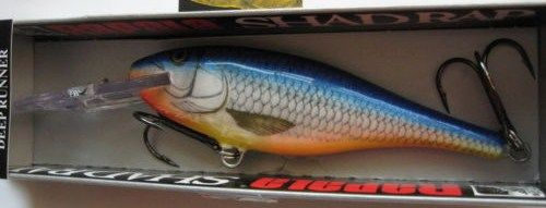 Rare Rapala Deep Runner Shad Rap 9cm in BSH Color