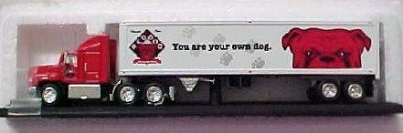 Red Dog Beer Collectible Matchbox Semi Truck