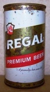 Regal Flat Top Beer Can/Anheuser Busch