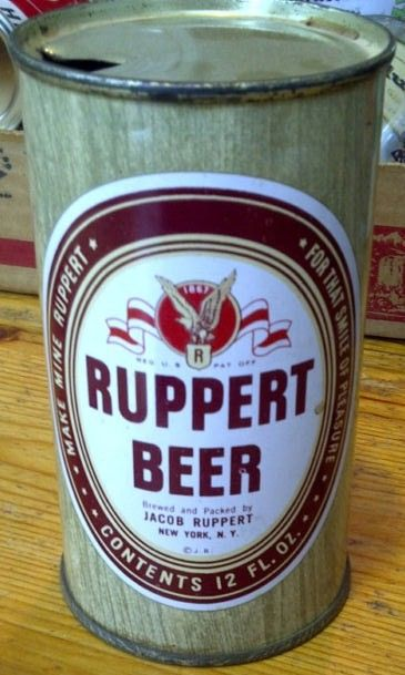 Ruppert Beer Can 12oz Flat Top