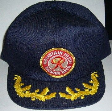 Rainer Beer Captain's Hat Vintage 90's