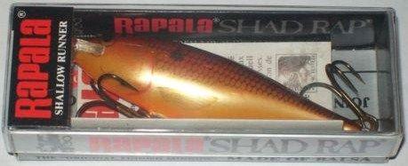 Rapala SSR 8 CW Crawdad Shallow Shad Rap Finland Lure
