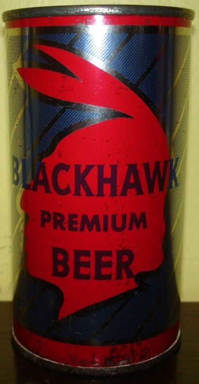 Blackhawk Flat Top Beer Can Cumberland Maryland