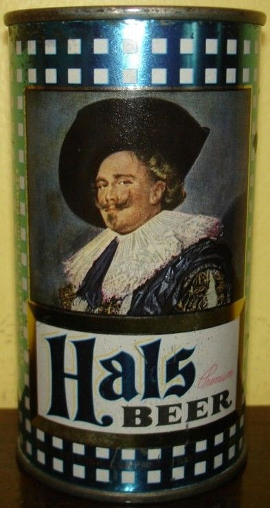 Rare Hals Flat Top Beer Can Baltimore, Maryland
