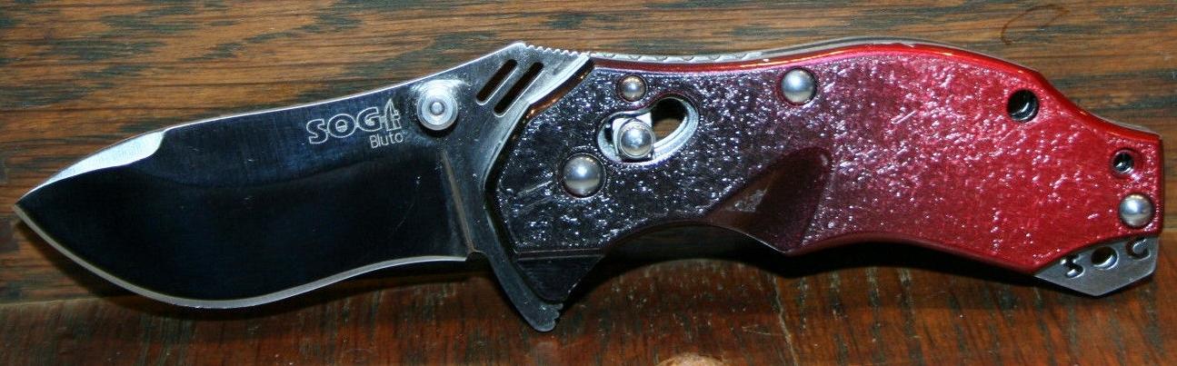 SOG Bluto Arc Lock Folder/Utility Knife/Seki Japan