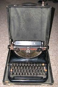 Remington 5 Antique Typewriter 1930s