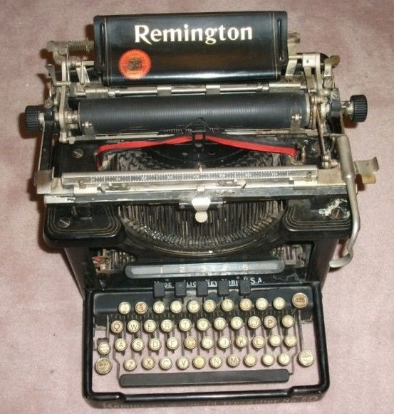 Remington Standard Typewriter No 10 1908