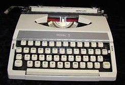 Royal Mercury Travel Portable Manual Typewriter