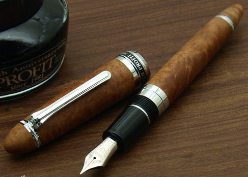 Sailor 1911 Profit 30th Year Anniversary Limited Edition Briar Wood Fountain Pen
