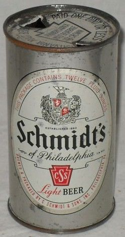 WSchmidt's Flat Top Beer Can