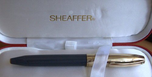 Sheaffer PFM Fountain Pen Grey