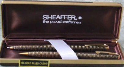 Sheaffer Sovereign 14K Gold Filled Pen/Pencil Set