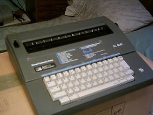 Smith Corona SL 500 Electric Typewriter