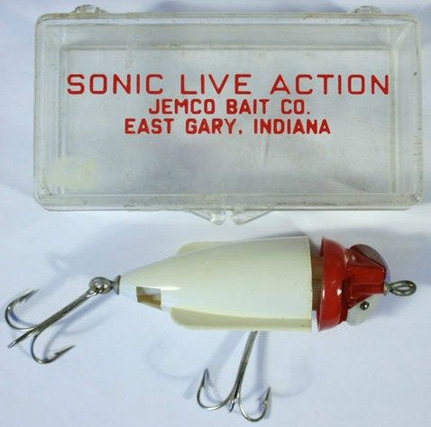 Sonic Live Action Lure by Jemco Bait Co. Gary, Indiana