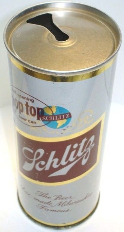 Schlitz Zip Top Close Up Opening