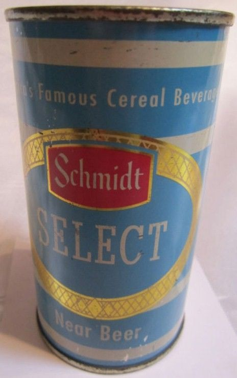 Schmidt Select Near Beer Flat Top Can