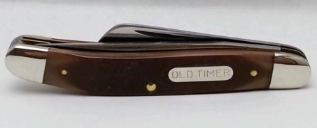 Schrade Old Timer Pocket Knife USA 930T Closed View