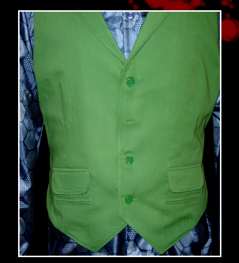 Screen Accurate Jokers Green Vest