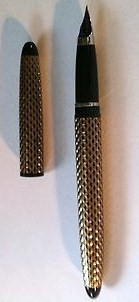 Sheaffer Skripsert Ladies Cartridge Fill Pen IVPaisley Gold & Black