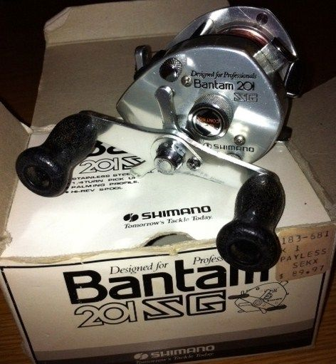 Shimano Bantam 201 ZG Vintage Lefty with Original Box
