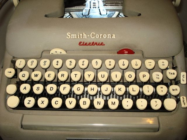 Smith Corona Cursive Script Typewriter