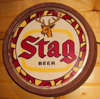 Stag Beer Light Up Sign