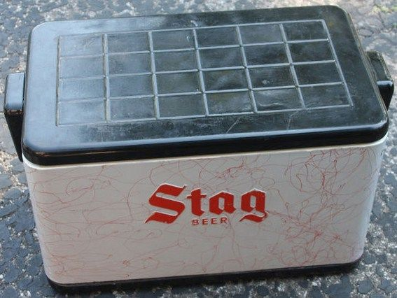 Stag Beer Metal Cooler-Aluminum