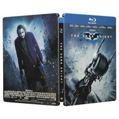 SteelBook Dark Knight DVD