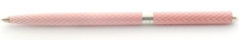 Tiffany Sterling Silver Pink Enamel Rollerball Pen