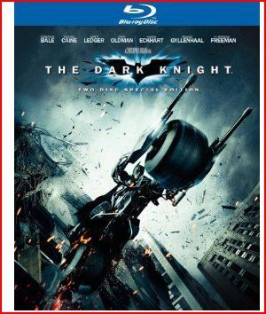 The Dark Knight Blu-Ray DVD Cover