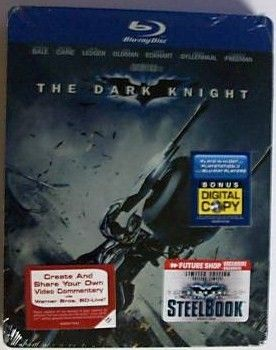 The Dark Knight Blu-Ray Steel Book DVD Set