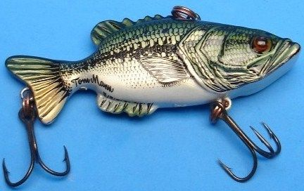 Tom Mann Leroy Brown Vintage Crankbait Lure Largemouth Bass