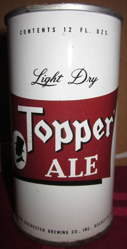 Topper Ale Beer Can
