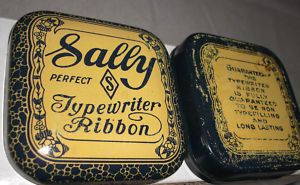 Sally Perfect Typewriter Ribbon Tin