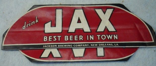 JAX Beer Hat Jackson Brewing Co. New Orleans, LA 1930's