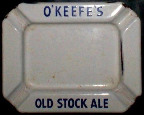 1930's O'Keefe's Ale Porcelain Ash Tray