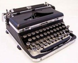 Royal Portable Standard Deluxe Typewriter