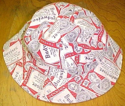 Vintage Budweiser Bucket Hat