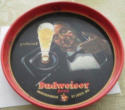 Vintage Dudweiser Tray