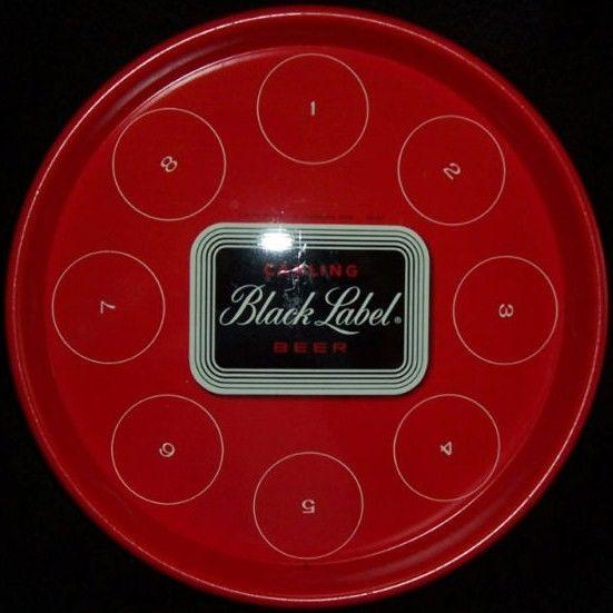 Vintage Carling Black Label Beer Tray