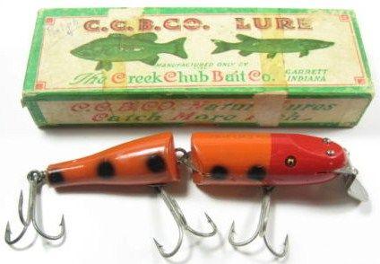 Vintage Creek Chub Husky Pikie Fishing LUre w/Box
