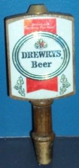 Vintage Drewery's Beer Tap Handle