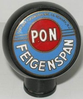 Feigenspan Pon Ball Knob Beer Tap Handle